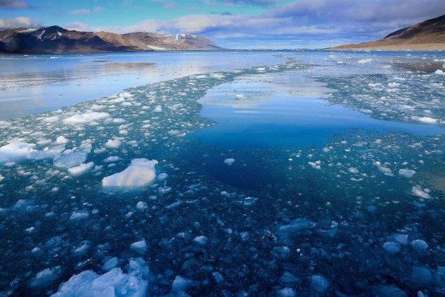 Zeilen rondom Spitsbergen