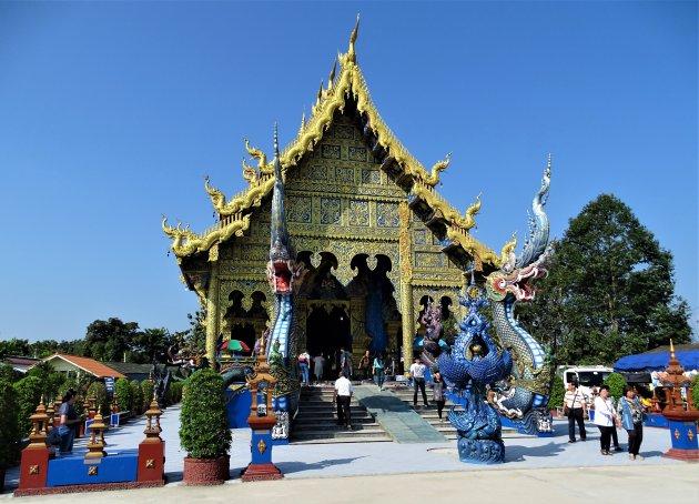 Blauwe Tempel.