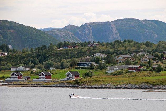 Noorwegen vanaf het water