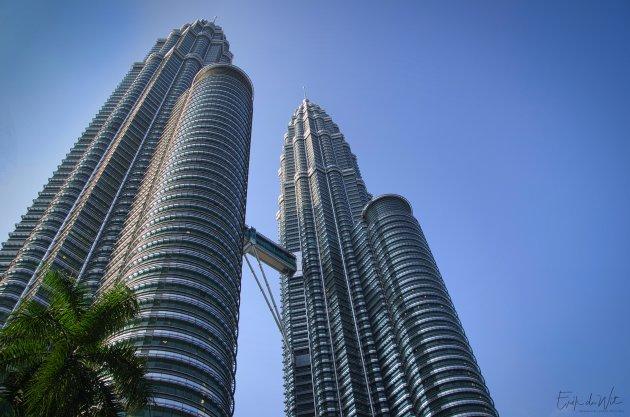 Mooi uitzicht Kuala Lumpur.