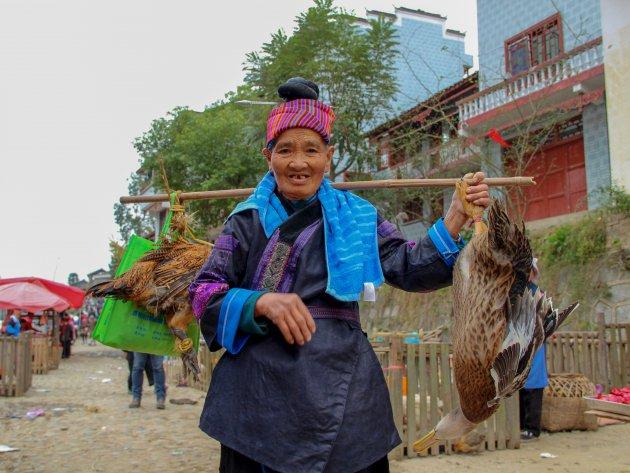 Marktdag in Shidong