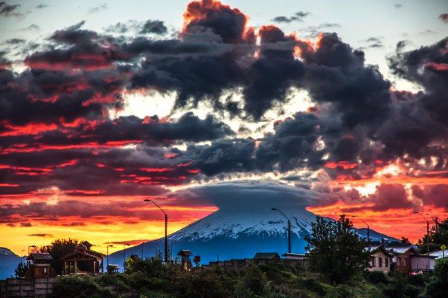 De vulkanen van Chili