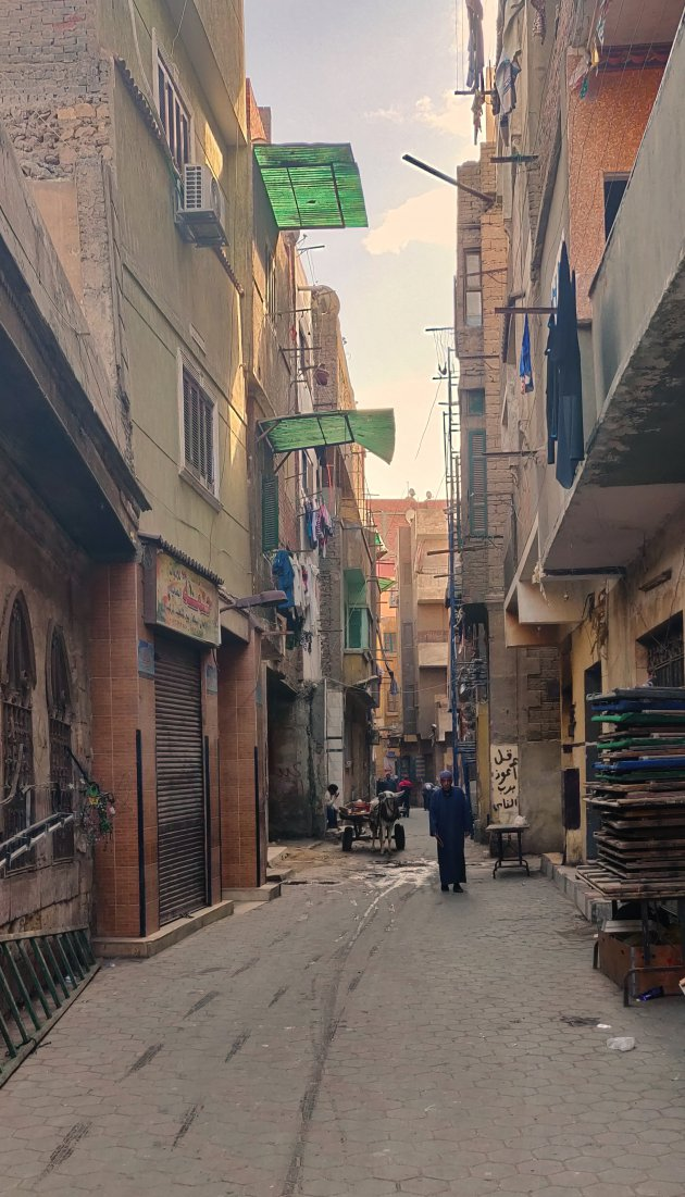 Straatbeeld Caïro