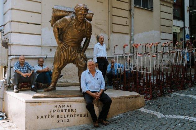 De Hamal Porters van de Fatih Belediyesi
