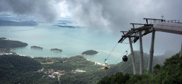 In de wolken met de Langkawi Cable Car