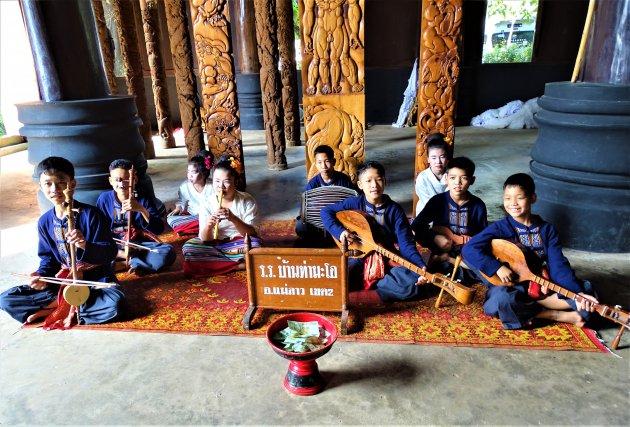 Jongeren orkestje.