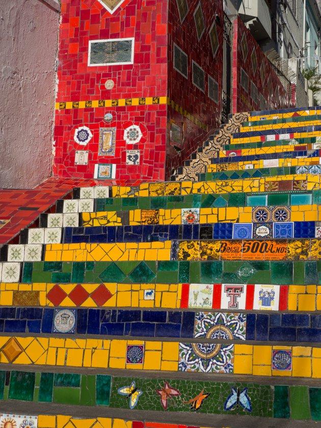 Hollandse tegeltjes in Rio de Janeiro