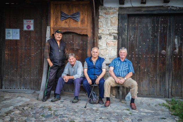 De mannen van het dorp