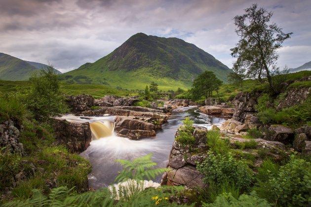 in alle rust genieten van de Schotse hooglanden