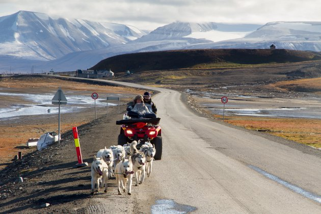 Vervoer op Spitsbergen