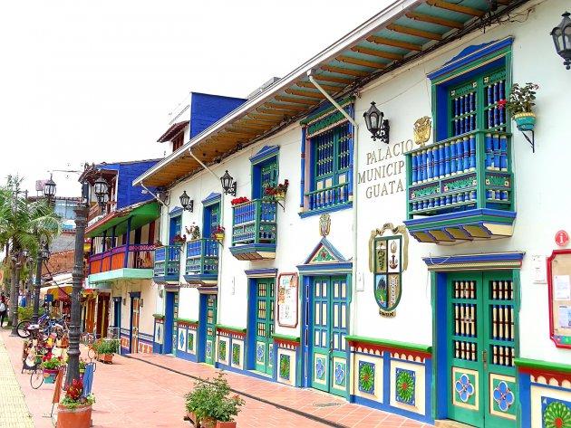 kleurrijk Guatape