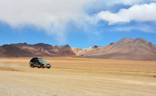 Off road in Zuid Bolivia