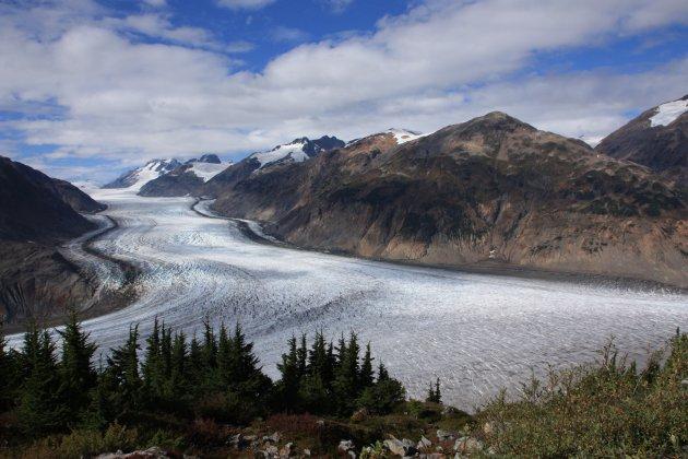 IJs, IJs en nog meer IJs bij de Salmon Glacier