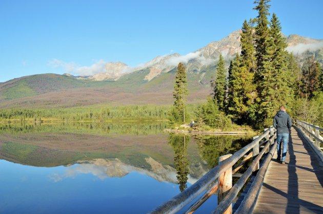 Pyramid Lake (Jasper NP)