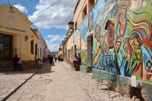 Street Art in Humahuaca