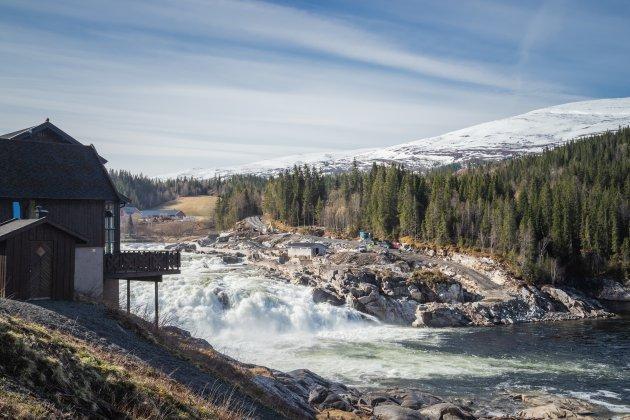 Natuurgeweld in Noorwegen