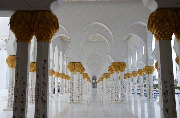 Sjeik Zayed-moskee In Abu Dhabi, Verenigde Arabische Emiraten