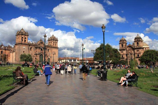 Het oude centrum van Cusco