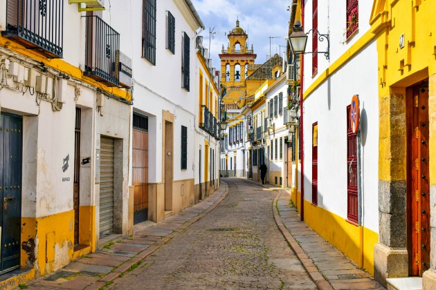 Gekleurde straatjes van Córdoba