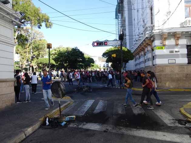 The day after: protesten in Bolivia