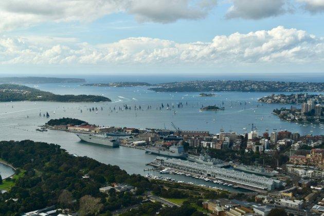 Uitzicht over Sydney
