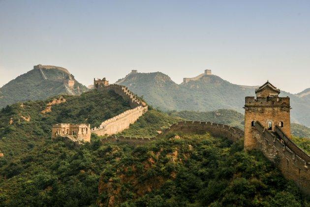 Een indrukwekkende muur