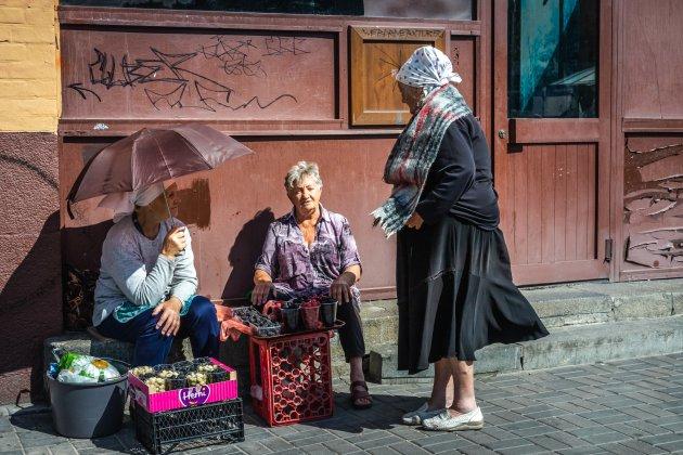 Het is warm in Kiev