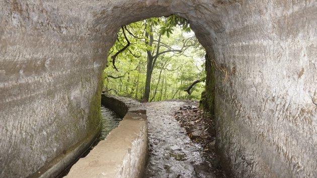 Levada tunnel
