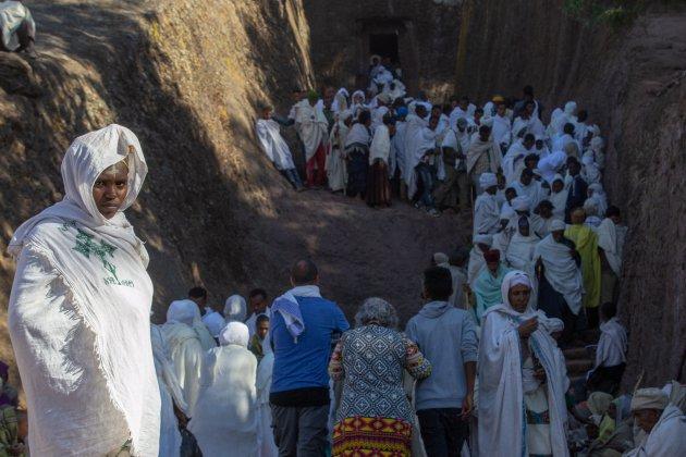 Bezoek Lalibela tijdens kerst