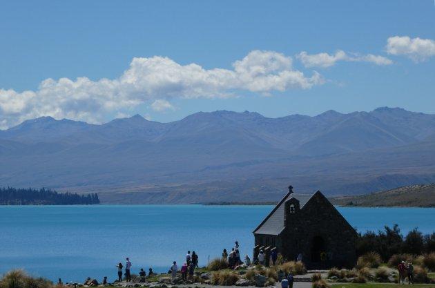 Insta shoots aan Lake Tekapo