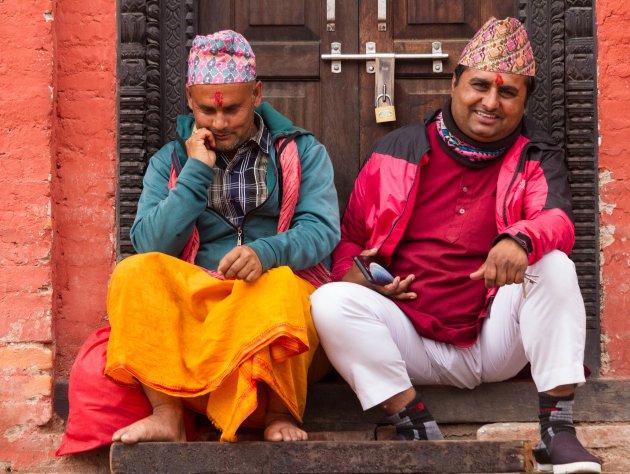 portret nepalese mannen