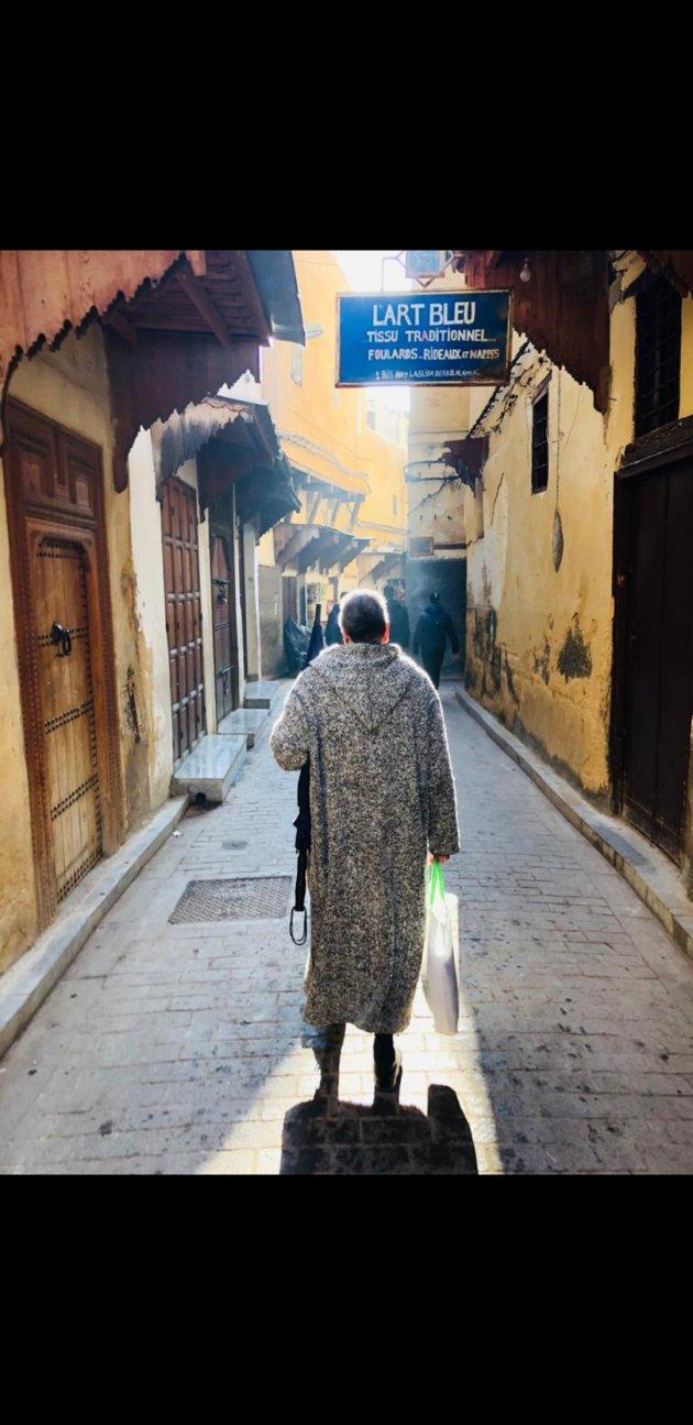 Medina in de vroege morgen.