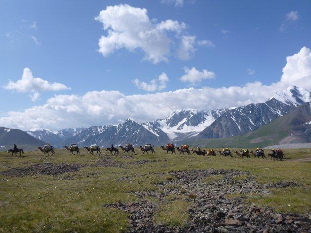 Bergwandelen in Mongolie