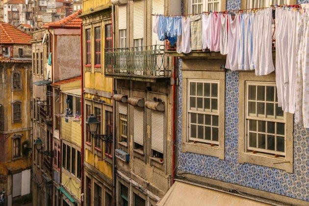 De prachtige straten van Porto