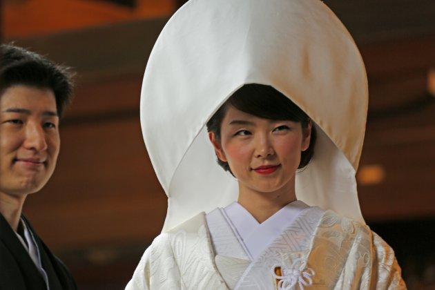 Shinto bruidspaar