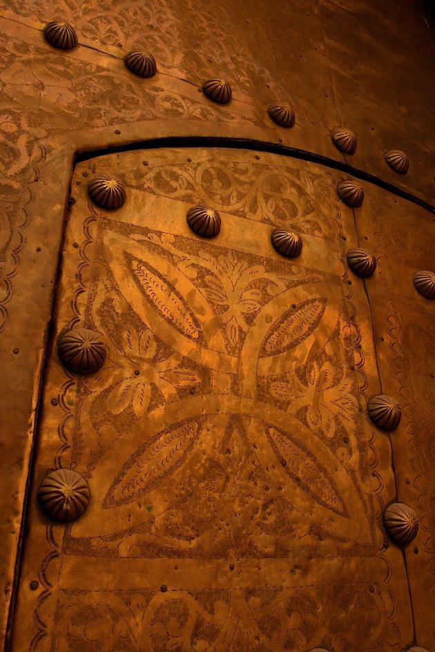 Detail van een deur