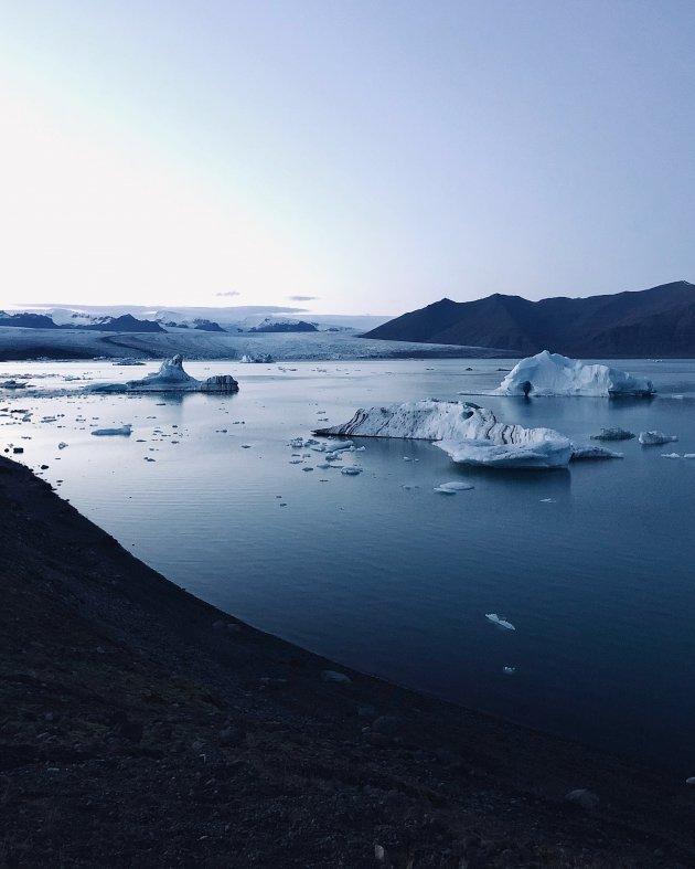 Sereen gletsjermeer