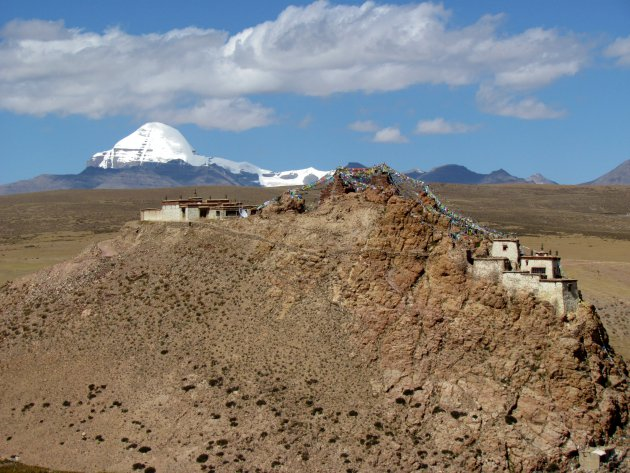 Chui klooster en de heilige Kailash