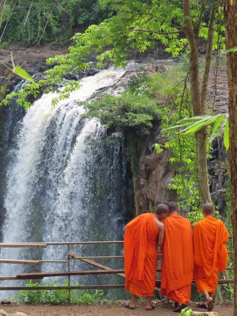 De Bou Sraa waterval in Mondulkiri