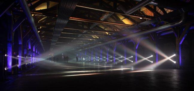 Lichtroute in Den Helder
