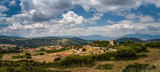 Het platteland van Griekenland