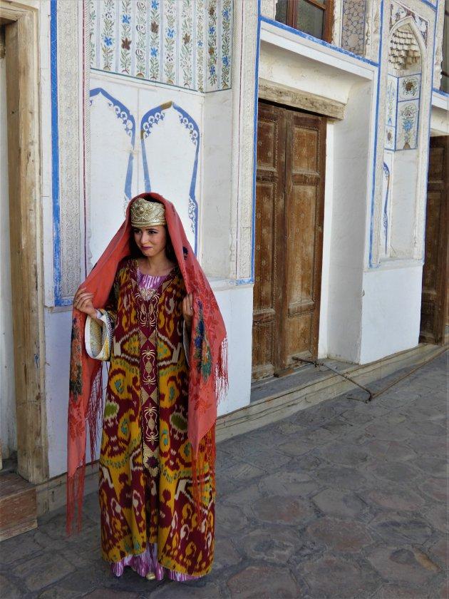 Traditionele klederdracht in Buchara