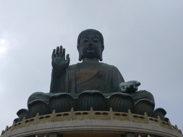 Tian Tan Boeddha in Hongkong!