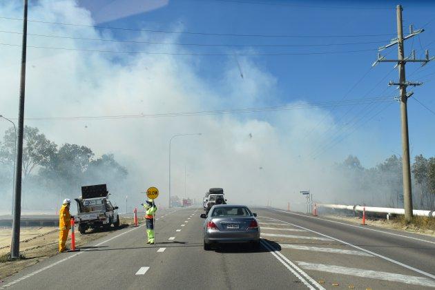 Preventieve bosbrand Australië