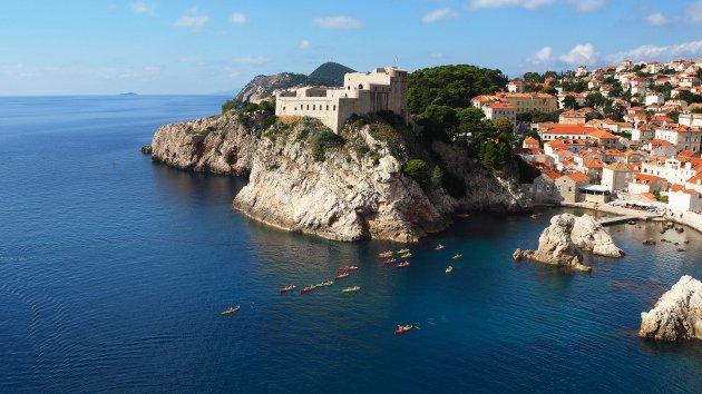 Kajakken en kanoën bij Dubrovnik
