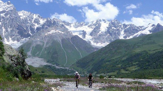Shkhara Gletsjer