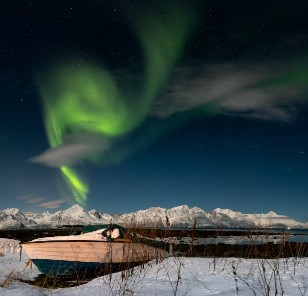 Aurora Borealis in Lyngen