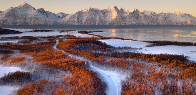 Magisch licht in Arctisch Noorwegen