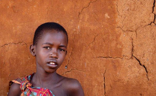 Portret in Kenia