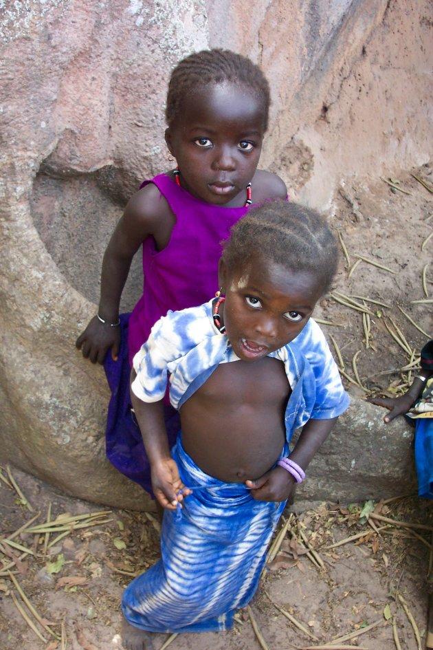 Dorpskindjes Senegal